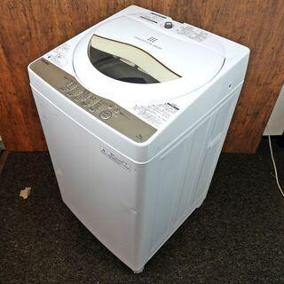 全自動洗濯機 東芝 5.0K AW-5G3 2016年製 …