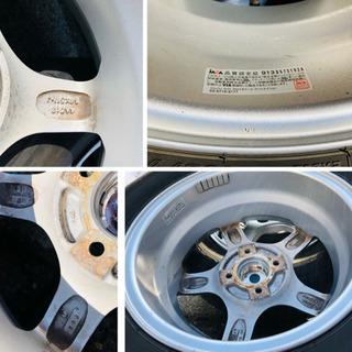 ◆さらに値下げ!ナット付属!美品 YFC GRASS SR アルミホイール 夏タイヤ 4本セット − 北海道