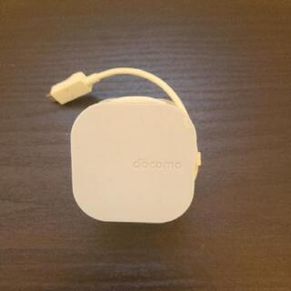docomo 充電器 usb micro-b