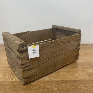 VINTAGE WOOD BOX②
