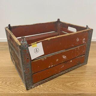 VINTAGE WOOD BOX④