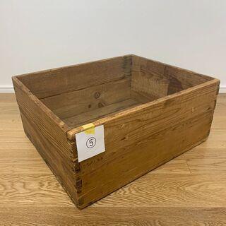 VINTAGE WOOD BOX⑤