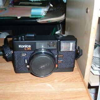 中古コニカ カメラ お譲りします。