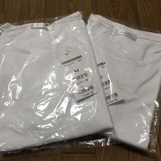 ドゥクラッセ:白Tシャツ2枚セット Mサイズ