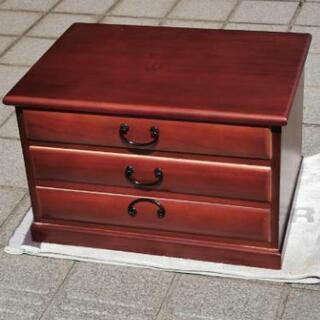木製書類ケース3段