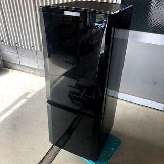 三菱電機 MR-P15E-B1 冷凍冷蔵庫  2ドア 146 L...