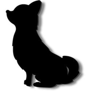 犬 ステッカー