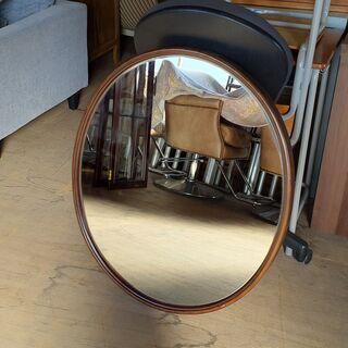アンティーク オーバルミラー 楕円形