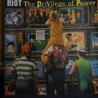 RIOT バンドスコア The Privilege of Pow...