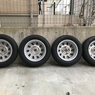 【ネット決済】【使用少美品】ブリヂストン 低燃費タイヤ  155...