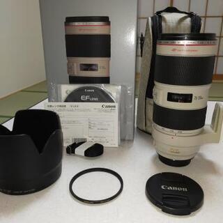 【ネット決済】中古美品 キヤノン Canon EF70-200m...