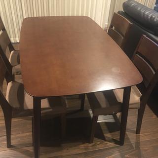 ☆ダイニングテーブル&椅子4脚付☆