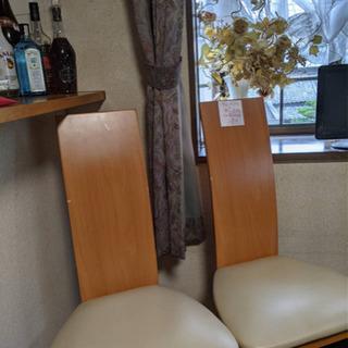 ダイニングガラス テーブル +椅子4脚