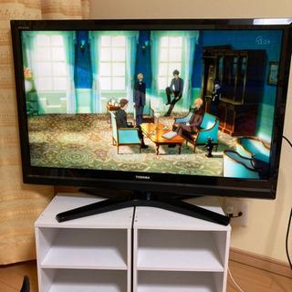 東芝REGZA  液晶カラーテレビ 42型 10年製ゴールデンウ...