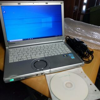PanasonicノートパソコンCF-SX2 画面に筋入り SD...