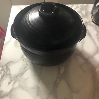 ご飯炊く 鍋