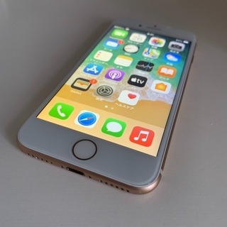 iPhone8 64GB ゴールド 美品【商談中】