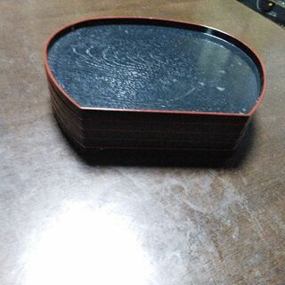 木製皿セット(中古)