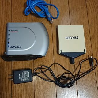 バッファロー 無線LAN 親機 WHR-HP-G  +  指向性...