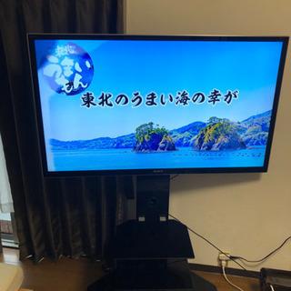 壁寄せテレビスタンド T1006B ハイタイプ