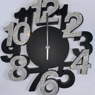 高級ガラスストーン 壁掛け時計