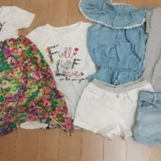 取引中 最終値下げ 期間限定 30着位 女の子 服 サイズ120から150 春から冬までの画像