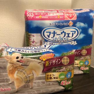 超小型犬用マナーウェア女の子用SSSサイズ42枚新品+α