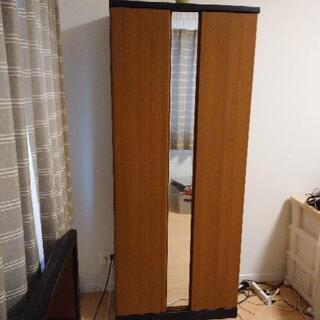 【購入者決定】【無料!】鏡付き ラック 棚  − 奈良県