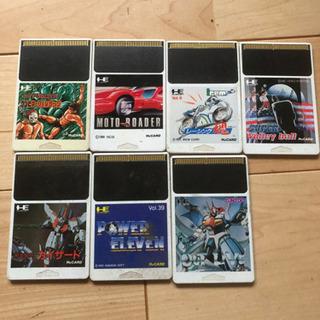 レアゲームソフトPCエンジンソフト7本 (╹◡╹)