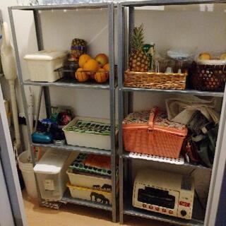 【購入者決定】メタルラック 棚 解体できます - 家具