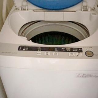 (受け渡し決定しました。)SHARP 洗濯機 3/26まで!ES...