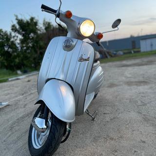 実働原付 スズキ ヴェルデ Velde 自宅配送 2スト速い  軽整備 - バイク