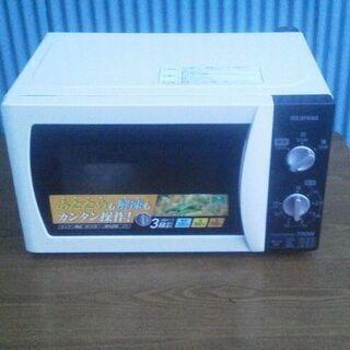 アイリスオーヤマ 電子レンジ IMB-T171-5 2017年製...