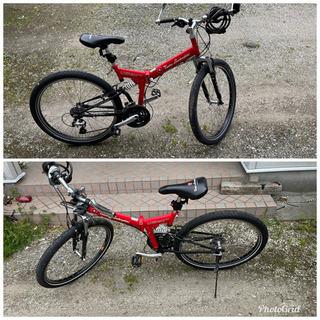 折り畳み自転車 26インチ 通勤 通学にいかがですか?