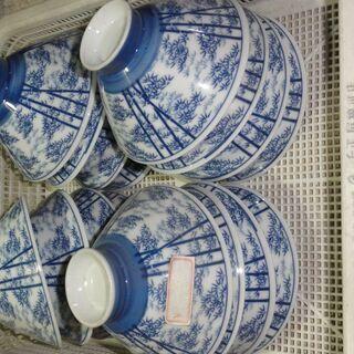4 ご飯茶碗 レトロ 昭和 16個