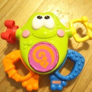 カエルのイタズラBOX的な玩具
