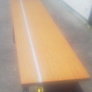 長テーブル・13台の出品です「高さ70cmが2台//高さ33cm...