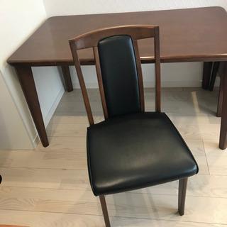 ダイニング テーブル 椅子 5点セット
