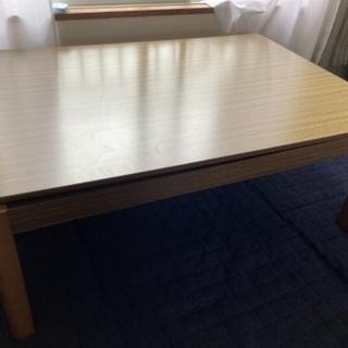 (24日までなら配達可能)ニトリのこたつテーブル/2015…
