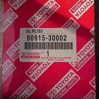 トヨタ自動車 純正オイルフィルター 90915 30002…