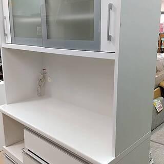 ✨松田家具✨2面レンジボード 食器棚