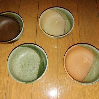 小皿4枚セット☺️〈11.5㎝〉の画像