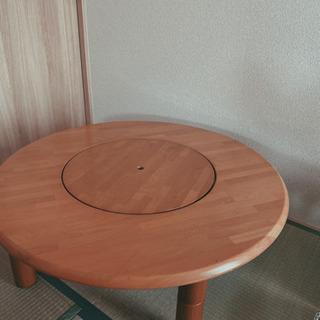 【ネット決済】高さ調整可の中華テーブル