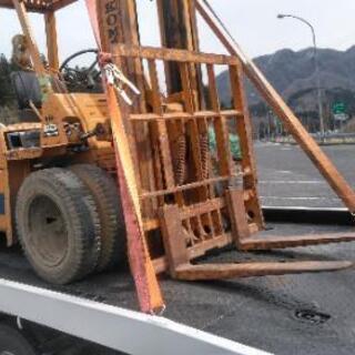 陸送 フォークリフト 農業機械 不動自動車 改造車 ミニユンボ