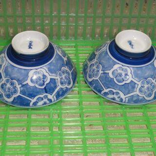 10 ご飯茶碗 レトロ アンティーク 昭和 2個セット