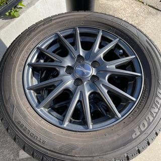 スタッドレス タイヤホイール4本セット 195/65/R15 DUNLOP - 売ります・あげます