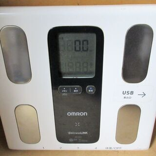 ☆オムロン OMRON HBF-208IT 体重体組成計 …