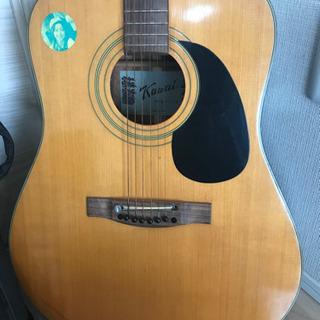 【決まりました】KAWAI  アコースティックギター KW-130A   ソフトケース付き - 大阪市