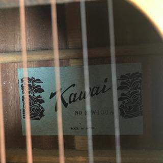 【決まりました】KAWAI  アコースティックギター KW-130A   ソフトケース付き − 大阪府