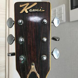 【決まりました】KAWAI  アコースティックギター KW-130A   ソフトケース付き - 売ります・あげます